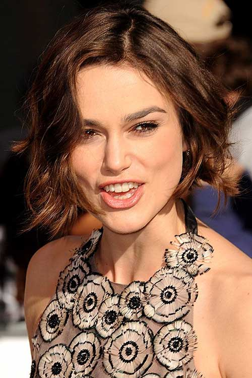 Keira Knightley Ombre Bob Hairstyles