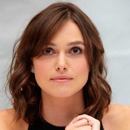 Keira Knightley Simple Wavy Bob