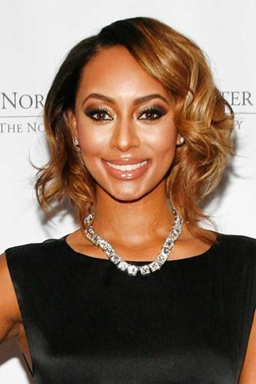 Keri Hilson Short Bob Hair Colors