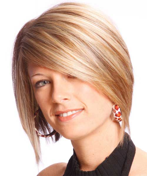 Formal Layered Bobs with Bangs