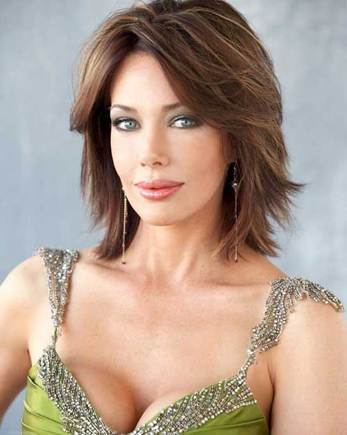 Lesley-Anne Down Bob Hair