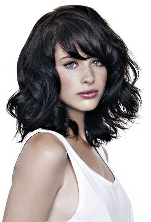 Bobs, Long bobs and Bangs on Pinterest