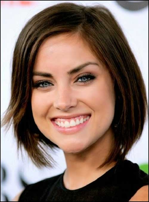 Medium Short Bob Hairstyles for Oval Faces