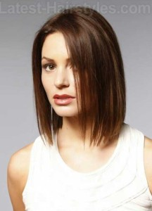 Mid Length Fine Hairstyles 2015