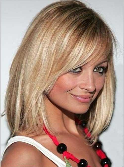 Nicole Richie Long Bob Haircuts