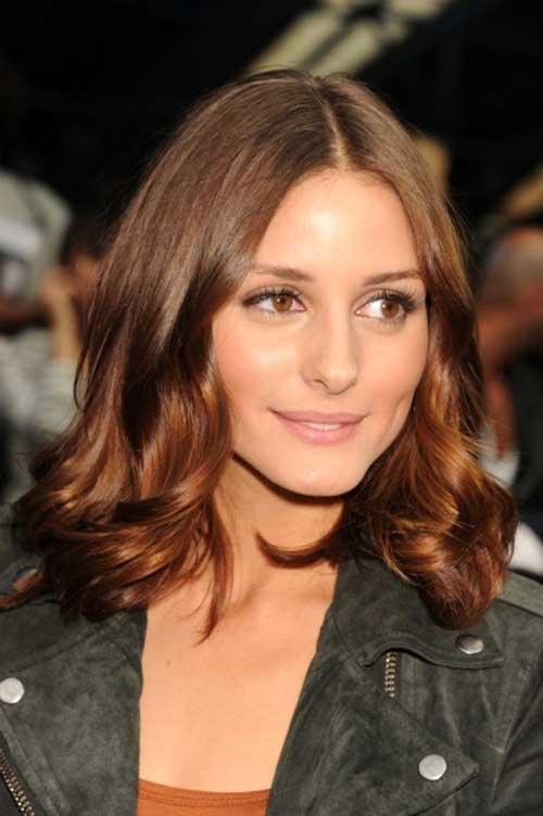 Olivia Palermo Long Bob Hair
