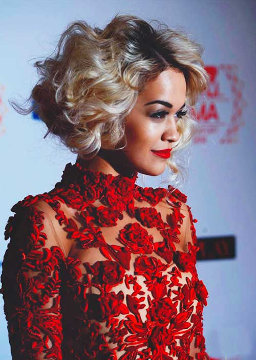 Rita Ora Hairstyle for Girls