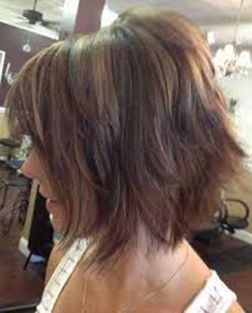 Chic Shaggy Bob Hairstyles 2014