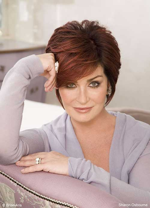 Sharon Osbourne Hairstyles for Women
