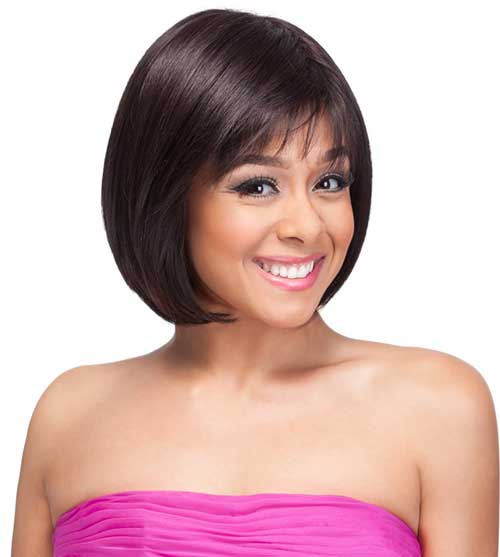 Short Bob with Bangs for Women