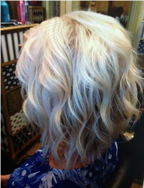 Short Bobbed Wavy Hair