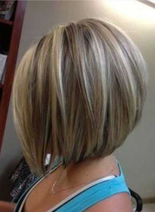 Short Blonde Bobbed Haircuts