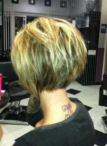 Best Short Bob Hair Back View