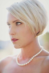 Wedding Short Bob Hairstyles 2014-2015
