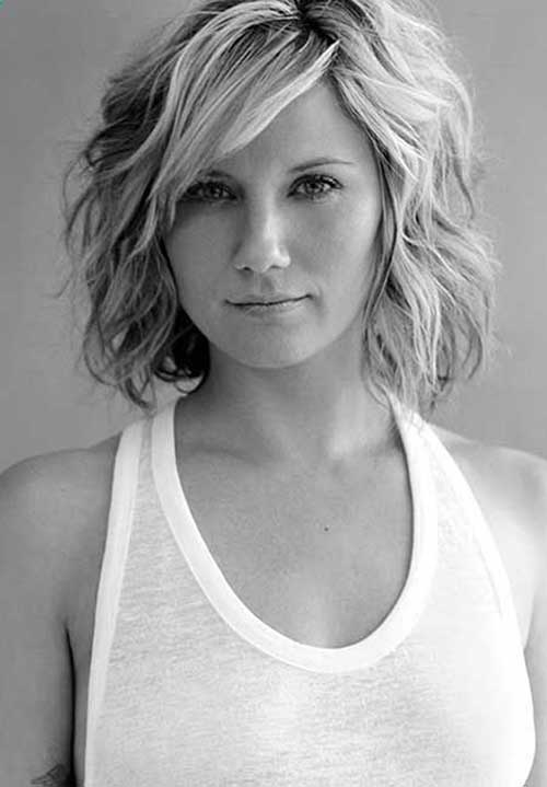 Best Short Wavy Hairstyles Bob 2014