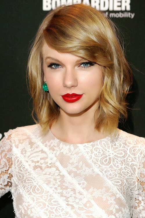 Taylor Swift Short Medium Hair