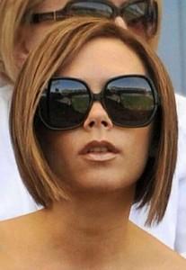Victoria Beckham Brown Bob Hair