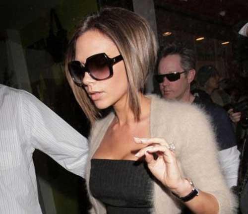 Victoria Beckham Hair Bob Style