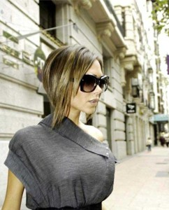 Victoria Beckham Inverted Bob Hair