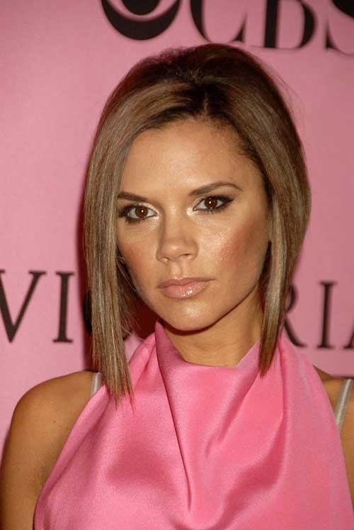 Victoria Beckham Long Bob Hair