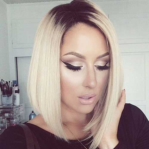 Womens Blonde Bob Haircuts