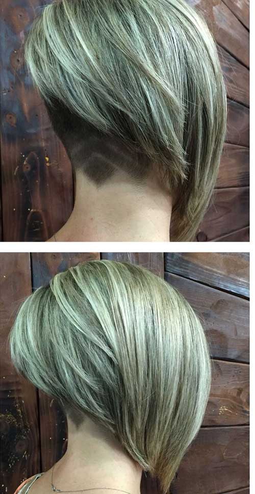 Angled Bob Haircuts Women