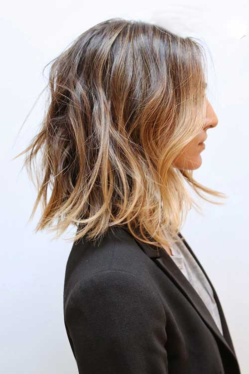 Balayage with Long Bob Haircuts