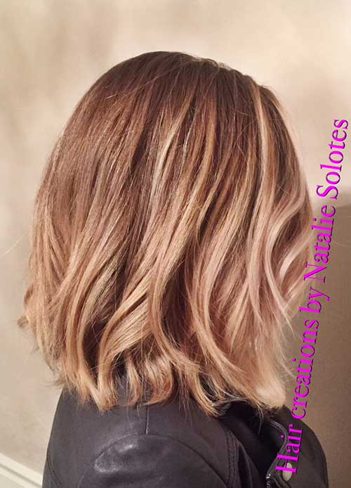 Balayage with Mid Bob Haircuts