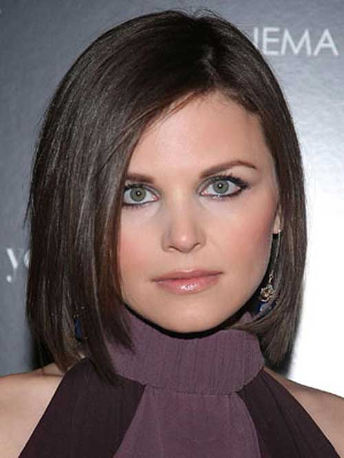 Best Dark Bobs for Round Faces