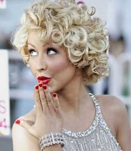 Best Curly Blonde Thick Hair Bob