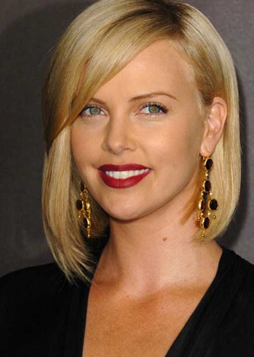 Blonde Bob Cut Straight Hairstyle Pictures