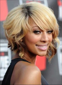 Celebrity Bob Haircuts with Curly Ends 2014