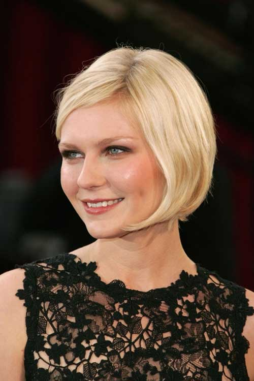 Chic Blonde Straight Bob Hairstyles