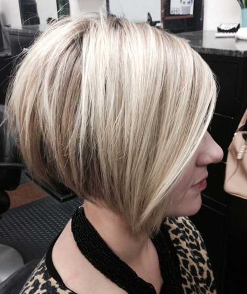 Chic Bob Blonde Hair Cuts