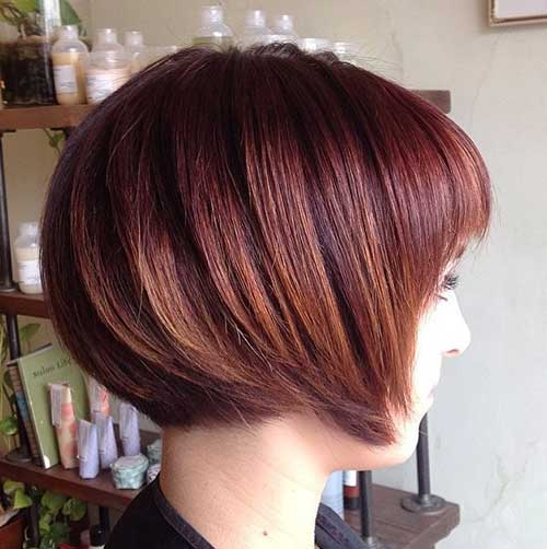 Chic Brown Bob Haircut