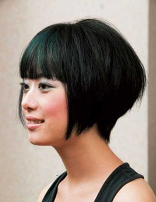Chinese Bob with Bangs Hair Styles 2014-2015