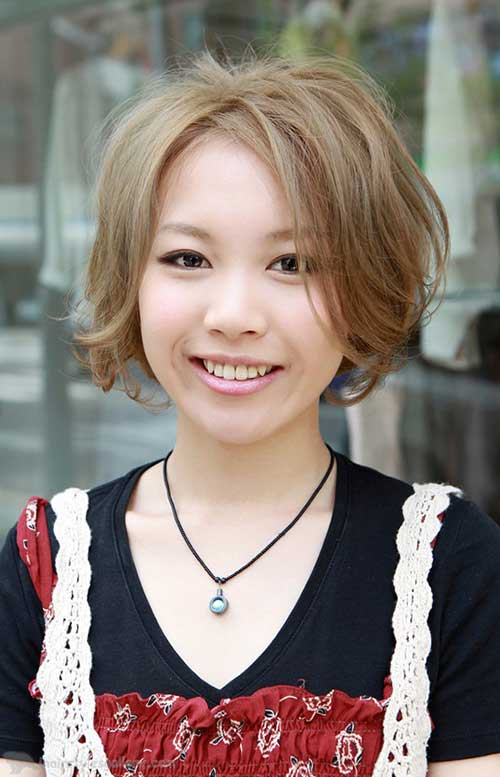 Cute Japanese Nice Bob Hairstyle