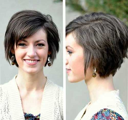 Cute Short Bob Cut Ideas for Oval Faces