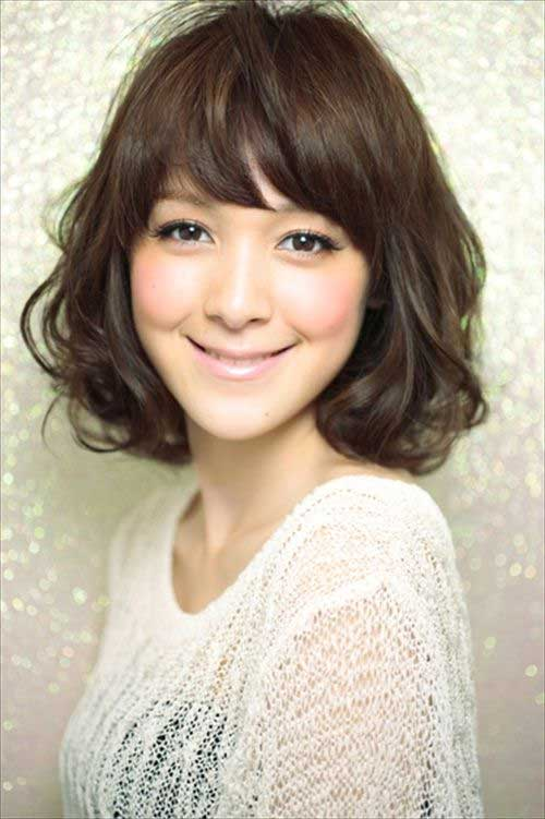 Cute Short Japanese Wavy Bob Haircuts