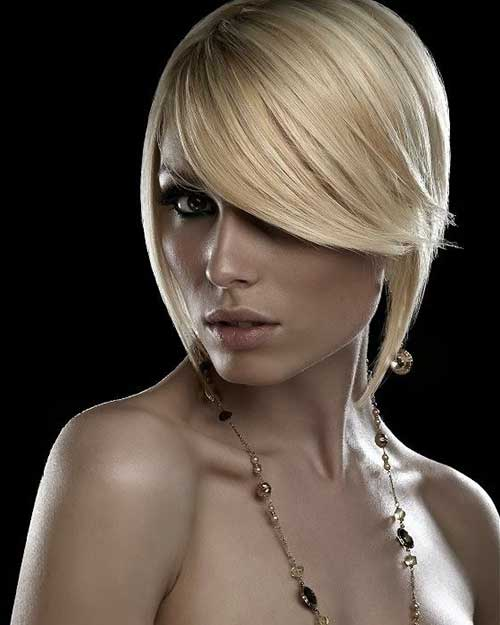 Hair Blonde Bobs for Round Faces