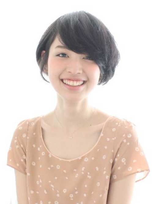 Japanese Dark Bob Hairstyle