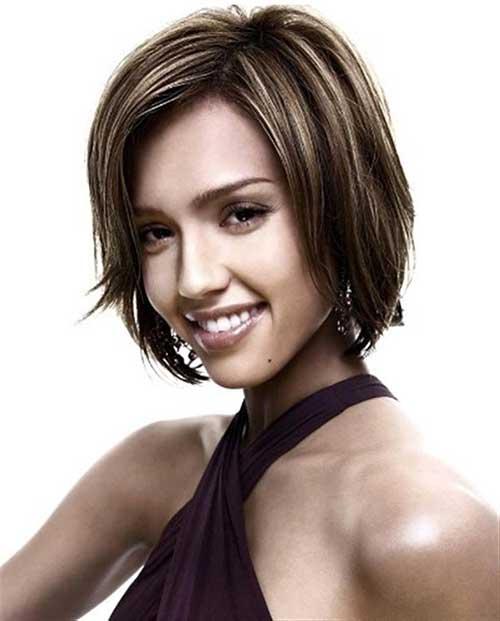 Jessica Alba Casual Bob Hair