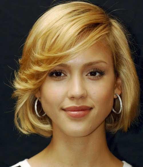 Jessica Alba Classic Bob Hair