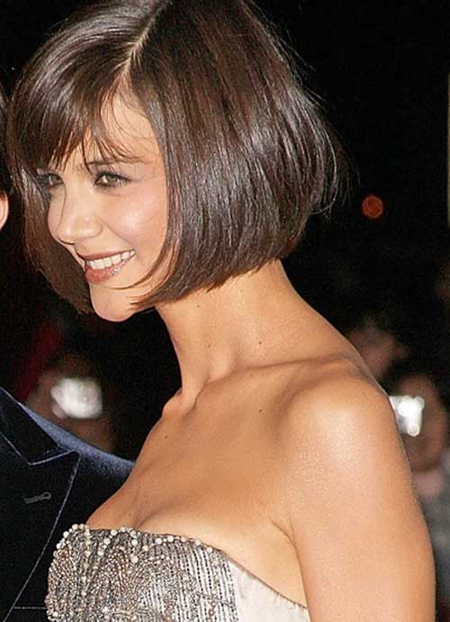 Katie Holmes Bob Haircuts Side View