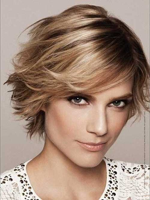 Layered Hairstyle with Bob Cuts