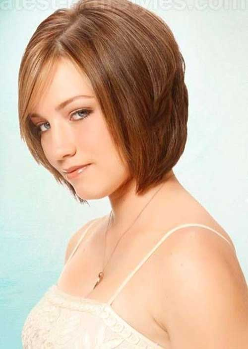 Layered Light Brown Bob Hairstyles