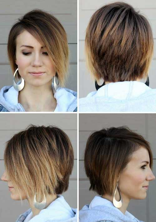 Best Light Brown Ombre Bob Haircut
