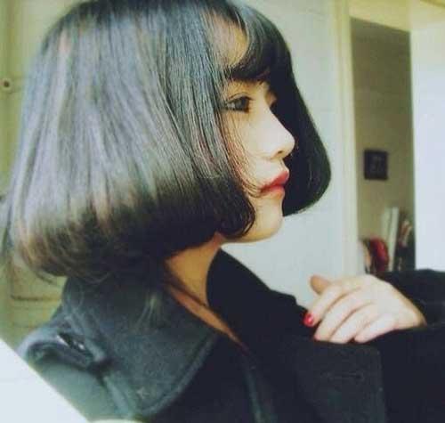 Nice Chinese Dark Bob Hairstyles 2014-2015