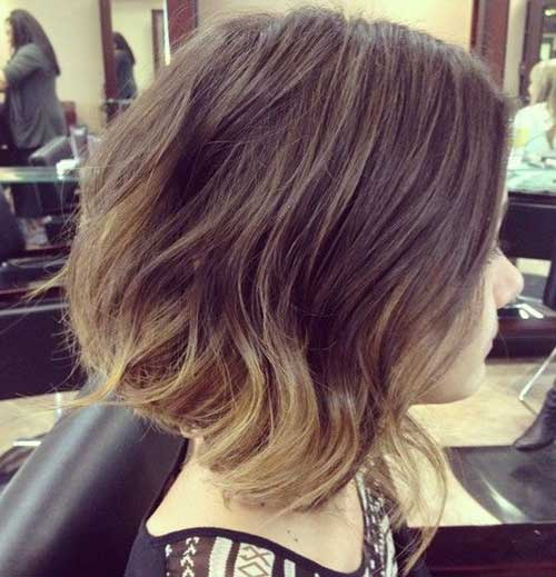 Nice Ombre Long Bob Hair
