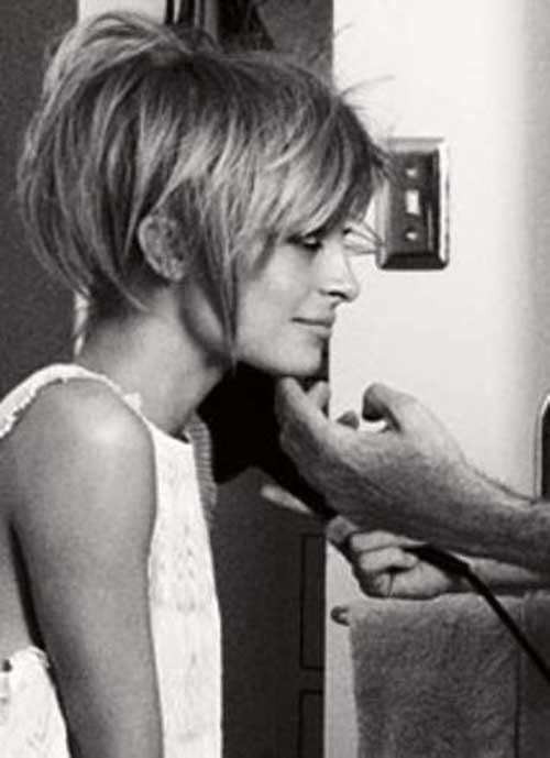 Nicole Richie Short Cut Bob Hairstyle